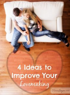 4 Ideas to Improve Your Lovemaking I like using the term lovemaking when talking about sex in marriage. Any two consenting adults can have sex, but it takes committed-for-life marriage partners to make love. Lovemaking comforts because it releases tension. A back rub is good for tense bodies, a sexual release even better. God was … … Continue reading →