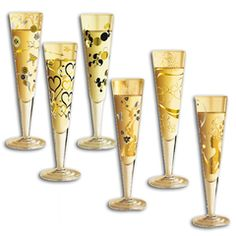 Cheers! Ritzenhoff Champagne glasses
