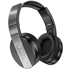 Special Offers - Sentey Headphones with Microphone Audiophile Headset Metal Band for Travel Work Gaming Running Sport Transport Carrying Case Included Over the Ear Cups Rotation Volume Control Portable - In stock & Free Shipping. You can save more money! Check It (December 28 2016 at 11:45PM) >> http://ift.tt/2iewoOh
