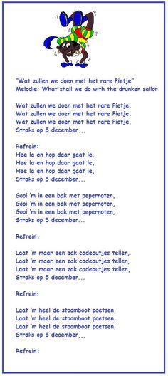 Sinterklaasliedje: Wat zullen we doen.