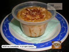 INGREDIENTES:         Gofio   Leche   Preparado para natillas   Azúcar   Galletas   Caramelo líquido.     PREPARACIÓN:     Antes que nada e...