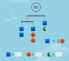 SolveMe Mobiles Math 5, Maths Puzzles, 5th Grade Math, Fun Math, Teaching Math, Play Math Games, Family Math Night, Logic Problems, Brain Teasers With Answers