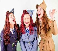 Hire The Daisy Belles with Agency Protection via Freak Music Vintage Glamour, Retro Vintage, Gracie Fields, Freak Music, Vera Lynn, Retro Band, World War Two, Daisy, Entertaining