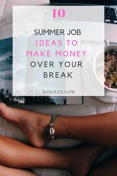 Here are 10 extremely fun summer job ideas to make money over your break no matter if you're in college or high school.
