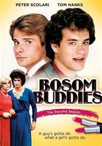 Buson Buddies....Tom Hanks & Peter Scolari....early 80's