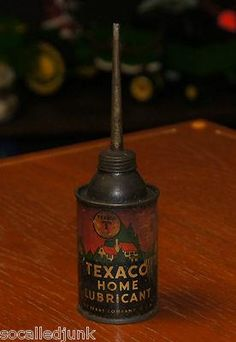 TEXACO HOME LUBRICANT OIL CAN