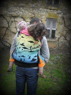Préformé Tula Toddler Daydreamer winter solstice. De 12 à 22 kgs babywearing