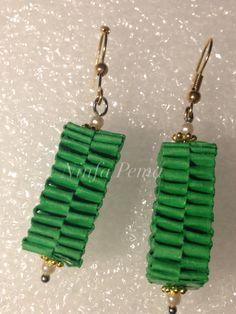 Paper earring