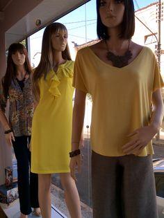 Vitrine Closet Mulher Verão 2016 Batas, pantalonas, vestidos. Amarelo radiante assim como o verão tropical.