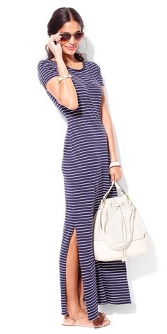 An effortlessly cute maxi dress you'll wear over and over again—so great for on-the-go summer style.