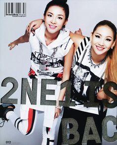 2NE1 DARA &CL