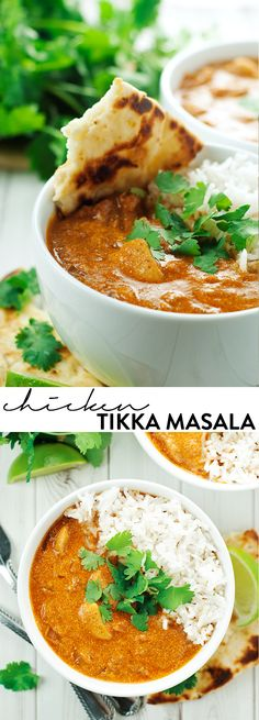 Easy Chicken Tikka Masala, ready in 30 minutes! asimplepantry.com #LoveBlooms…