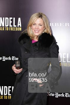 "Deborah Norville at Screening of ""Mandela: Long Walk to Freedom"", Hosted by U2, Anna Wintour and Bob & Harvey Weinstein, with Burberry. #BFAnyc"