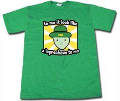 Who all seen the Leprechaun say Yeah!
