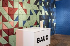 Baux acoustic tiles and panels at Clerkenwell Design Week 2015