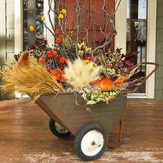 outside fall decorations by rosario