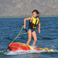 EZ Wake Trainer by AirHead. Teaches kids to wakeboard safely!