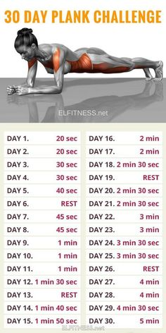30 Day Plank Challenge and Here's What Happened!, 30 Day Plank Problem and Right here's What Occurred! 30 Day Plank Problem and Right here's What Occurred! 30 Day Plank Problem and Right here's . Fitness Workouts, Yoga Fitness, Gym Workout Tips, Plank Workout, Fitness Routines, At Home Workout Plan, Easy Workouts, Workout Challenge, At Home Workouts
