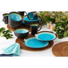 Costco: Metropolitan 16-piece Dinnerware Set Haaaaaa! <3 it