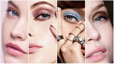 Do you want to make your eyes sparkle, shine and pop? This guide to eyeshadow looks for blue eyes will show you how to achieve flattering eye makeup. Makeup Looks Blue Eyes, Eyeshadow For Blue Eyes, Summer Makeup Looks, Blue Eye Makeup, Eye Makeup Tips, Colorful Eyeshadow, Eyeshadow Looks, Beauty Makeup, Makeup Eyes