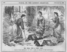 Punch 1863 croquet