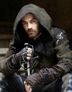 """The turmoil is real! He's so attractive year so evil!' Matthew McNulty as Lucien Grimaud in """"The Musketeers"""" s3 the"""