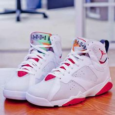 """Air Jordan 7 """"Hare"""" copping these when they drop! #May2015"""