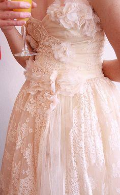 Elizabeth Dye's Rose/Dust dress