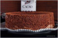 Biszkopt kakaowy - I Love Bake Pie, Baking, My Love, Sweet, Cacao, Recipes, Dekoration, Torte, Candy
