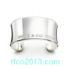 Tiffany Co Outlet 1837 Collection Elegant Wide Cuff Bracelet
