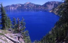 Oregon's Crater Lake: Steep And Deep