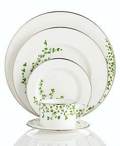 "kate spade new york ""Gardner Street Green"" Dinnerware Collection"