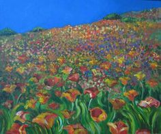 Flowers. Artist: Simona Zalinca