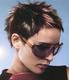 Short Spiky Hairstyles, Very Short Haircuts, Boy Hairstyles, Short Hairstyles For Women, Haircut Short, Short Bangs, Short Hair With Layers, Short Hair Cuts For Women, Hair Styles 2014