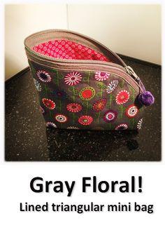 Gray Floral! Louis Vuitton Speedy Bag, Mini Bag, Gray, Floral, Bags, Collection, Handbags, Grey, Flowers