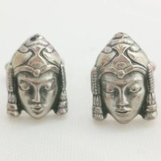 Check out this item in my Etsy shop https://www.etsy.com/listing/254624716/buddha-cufflinks-vintage-cuff-links-mens