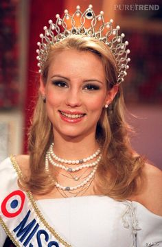 Elodie Gossuin Miss France 2001.