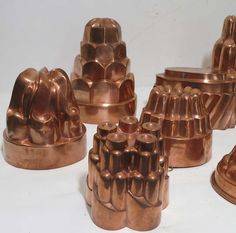 Extra Large Antique Victorian Era Copper Cake Jelly Food