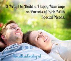 Stress will try to pull your marriage apart, but you've got some strong resources in your corner when it does!  http://specialneedsparenting.net/happy-marriage-possible-parents-special-needs/