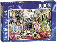 Køb Disney: Alle samlet til jul, 1000 brikker! Magical Christmas, Christmas Mood, Disney Christmas, Christmas Destinations, Pixar Characters, Ravensburger Puzzle, Puzzle Pieces, Schmidt, 1000 Piece Jigsaw Puzzles