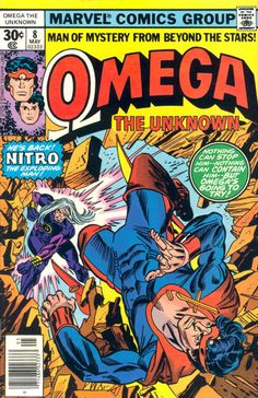 Omega The Unknown #8 first appearance of Foolkiller (cameo).