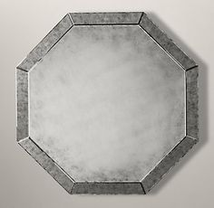 Palazzo Antiqued-Glass Octagonal Mirror | Restoration Hardware