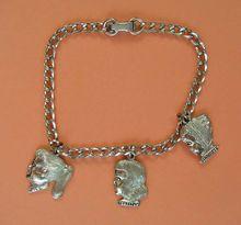 Charm Bracelets-Ginny, Jill and Ginnette Dolls Girl's Charm Bracelet