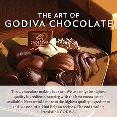 Godiva Chocolatier 27 Piece Dark Chocolate Assorted Gift Box, 10.6 Ounce