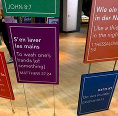 John 8 7, Bible Museum, Letter Board, Lettering, Drawing Letters, Brush Lettering