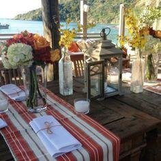Decoração de casamento - praia