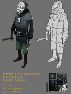 LOWPOLY (sub 1000~ triangle models) - Page 24 - Polycount Forum