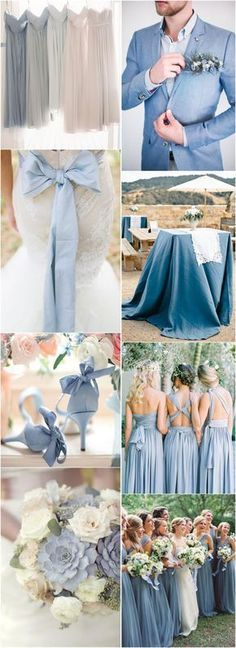 Wedding Colors » 2017 Wedding Inspiration: Dusty Blue Wedding Color Ideas » ❤️ More: http://www.weddinginclude.com/2017/08/wedding-inspiration-dusty-blue-wedding-color-ideas/?utm_content=buffer88b78&utm_medium=social&utm_source=pinterest.com&utm_campaign=buffer Find your inspo at www.pinterest.com/laurenweds/wedding-decor?utm_content=buffer98ebf&utm_medium=social&utm_source=pinterest.com&utm_campaign=buffer