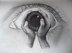 drawing holding an eye - Google Search