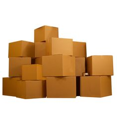 """77 Boxes, Fewer Supplies, and 191.75 cu.ft. of space15 Small moving boxes 16 x 10 x 10"""" 30 Medium moving boxes 18 x 14 x 12"""" 22 Large moving boxes 20 x 20 x 15"""" 10 X-Large moving boxes 23 x 23 x 16"""" 330 yards of packing tape3 Markers Moving Kit, Moving A Piano, Moving Supplies, Packing Supplies, Cheap Moving Boxes, Moving And Storage, Small Boxes, Make It Simple"""
